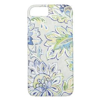 Bohemian Blue Flower iPhone 7 Case
