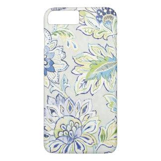 Bohemian Blue Flower iPhone 8 Plus/7 Plus Case