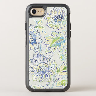 Bohemian Blue Flower OtterBox Symmetry iPhone 8/7 Case