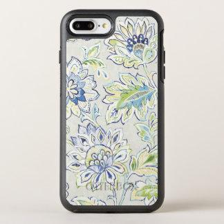 Bohemian Blue Flower OtterBox Symmetry iPhone 8 Plus/7 Plus Case