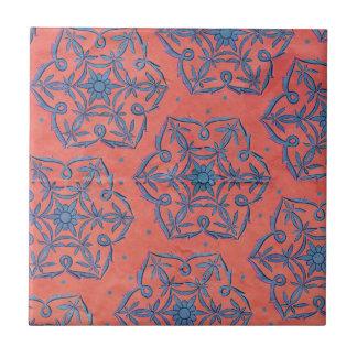 Bohemian Boho MOD Pattern Tile
