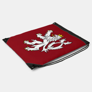 Bohemian Coat of arms Drawstring Bag
