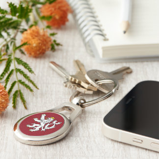 Bohemian Coat of arms Keychain