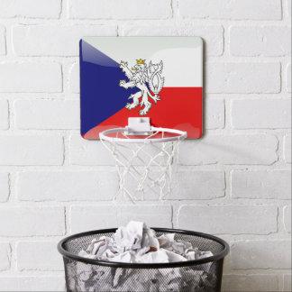 Bohemian Coat of arms Mini Basketball Backboard