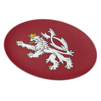 Bohemian Coat of arms Plate