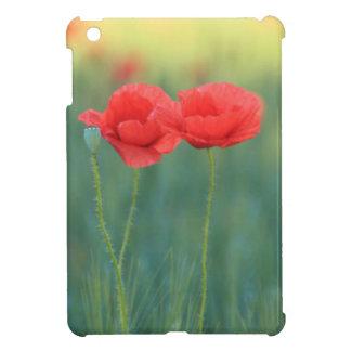 Bohemian Cute Red Poppy Flowers Ipad Case