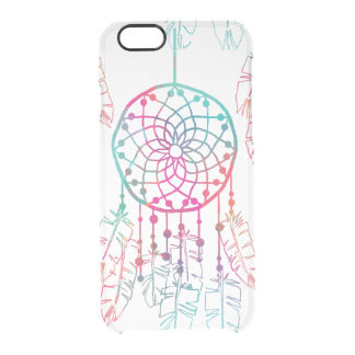 Bohemian Dream Catcher Feather iPhone 6 Clear Clear iPhone 6/6S Case