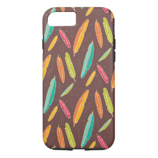 Bohemian feathers iPhone 7, Tough iPhone 7 Case