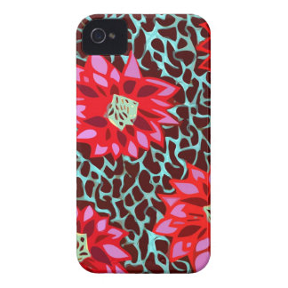 bohemian flowers iPhone 4 cover