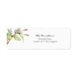Bohemian Garden | Floral Return Address Label