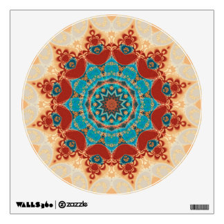 Bohemian Geometry Mandala Wall Decal