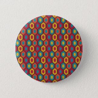 Bohemian Ikat 2 Inch Round Button
