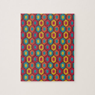 Bohemian Ikat Jigsaw Puzzle