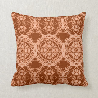Bohemian maroon cushion