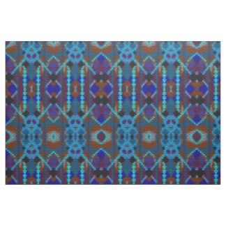 Bohemian ornament in ethno-style, Aztec Fabric