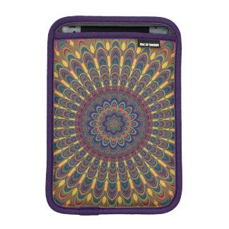 Bohemian oval mandala iPad mini sleeve