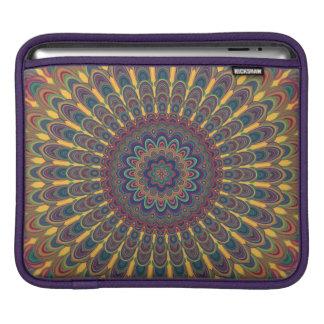 Bohemian oval mandala iPad sleeve