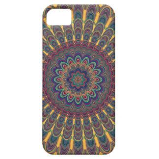 Bohemian oval mandala iPhone 5 covers