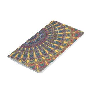 Bohemian oval mandala journal