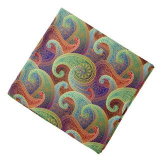 Bohemian Paisley Timeless Pattern Kerchiefs