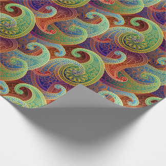 Bohemian Paisley Timeless Pattern Wrapping Paper