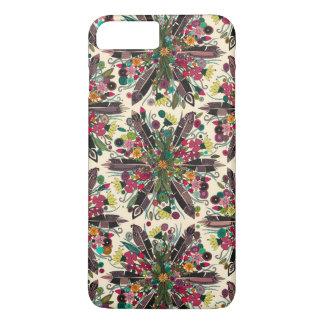bohemian posy cream iPhone 8 plus/7 plus case