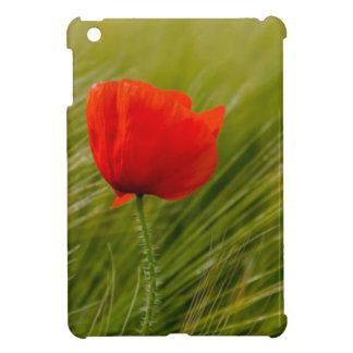 Bohemian Red Poppy Flower Spring Ipad Case