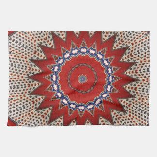 Bohemian Southwest Tribal  pattern Kitchen Towel