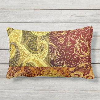 Bohemian Spring and Summer Chic Lumbar Pillow