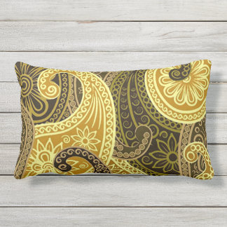 Bohemian Spring and Summer Chic Outdoor Pillow