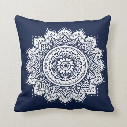 Bohemian Style Throw Pillow