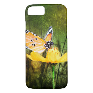 Bohemian summer daisy western country butterfly iPhone 8/7 case