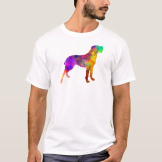 Bohemian Wirehaired Pointing Griffon in watercolor T-Shirt