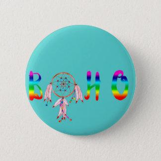 Boho 2 Inch Round Button