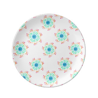 "Boho 8.5"" Decorative Porcelain Plate"