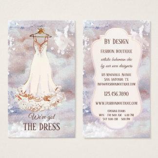 Boho Artistic Fashion Boutique Business Card