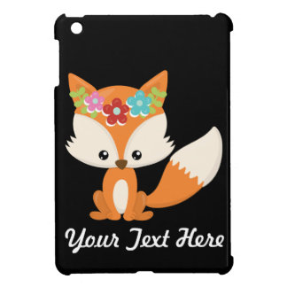 Boho Autumn Fox iPad Mini Cover