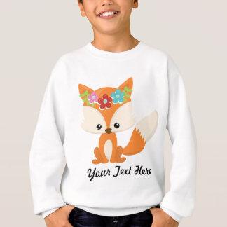 Boho Autumn Fox Sweatshirt