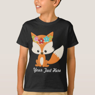 Boho Autumn Fox T-Shirt