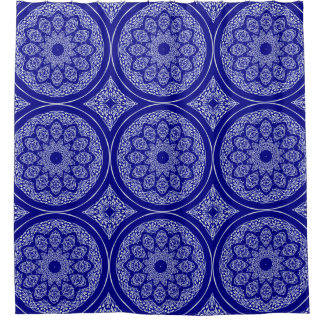 Boho Bazaar, Mix & Match Cobalt Pattern