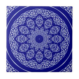 Boho Bazaar, Mix & Match Cobalt Pattern Ceramic Tile