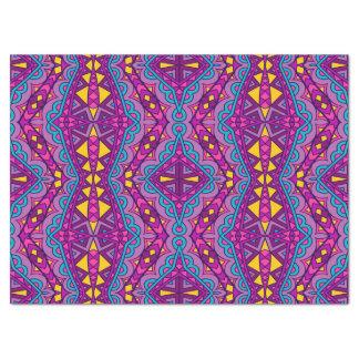 Boho Bohemian Retro Colorful Pattern Tissue Paper