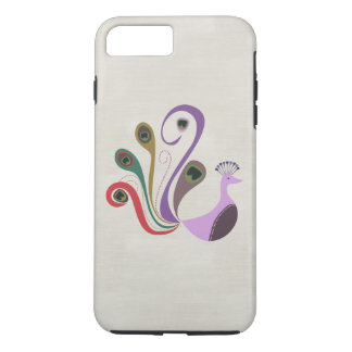 Boho Bohemian Retro Peacock iPhone 8 Plus/7 Plus Case