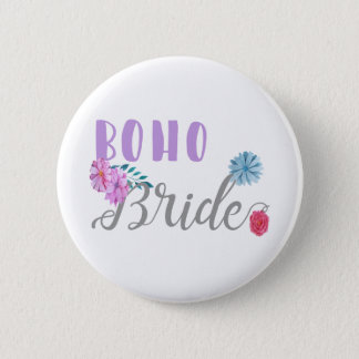 Boho-Bride.gif 2 Inch Round Button