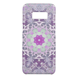 Boho chic Bohemian lilac purple mandala Case-Mate Samsung Galaxy S8 Case