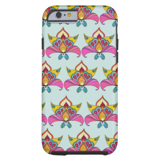 Boho Chic Design Tough iPhone 6 Case
