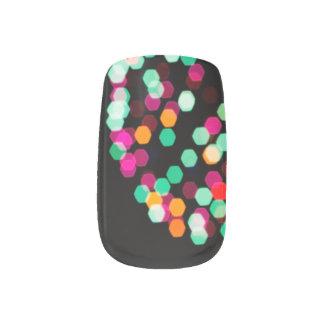 Boho Chic Fireworks Minx Nail Art
