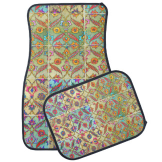 Boho Chic! Gypsy Chic! Bohemian Decor! Bright Mats Car Carpet