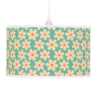 Boho Chic Hippie Happy Daisy Pendant Lamp