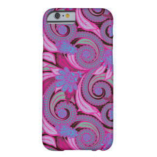 Boho Chic Hipster Floral Paisley Barely There iPhone 6 Case